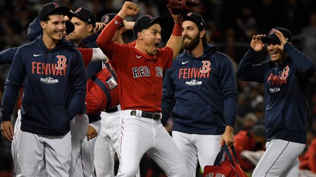 Boston Red Sox clinch the AL wild card spot