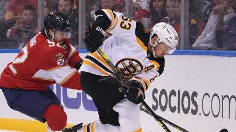 Boston Bruins Left Winger Brad Marchand