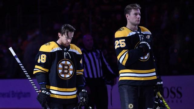 Boston Bruins Defenseman Brand Carlo
