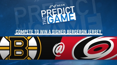 """Bruins-Hurricanes """"Predict The Game"""""""