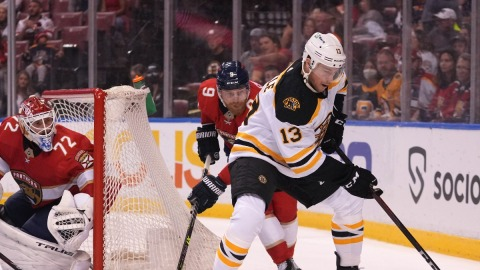 Boston Bruins Forward Charlie Coyle