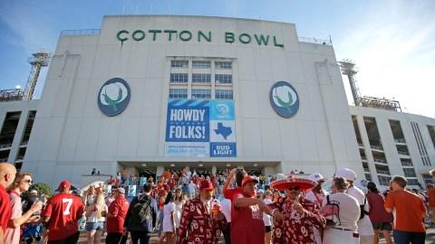 Texas Longhorns vs. Oklahoma Sooners