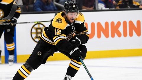 Boston Bruins forward Craig Smith