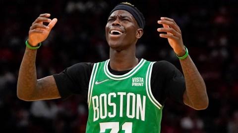 Boston Celtics guard Dennis Schröder