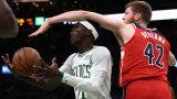 Boston Celtics Dennis Schroder and Washington Wizards Davis Bertans