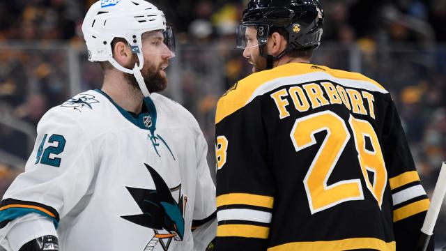Boston Bruins defenseman Derek Forbort