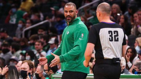 Boston Celtics coach Ime Udoka