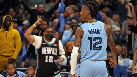 Memphis Grizzlies guard Ja Morant