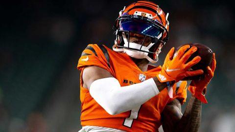 Cincinnati Bengals receiver Ja'Marr Chase