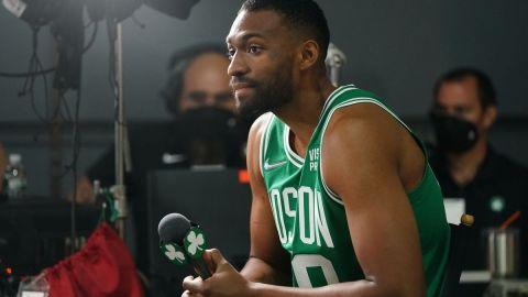 Boston Celtics forward Jabari Parker