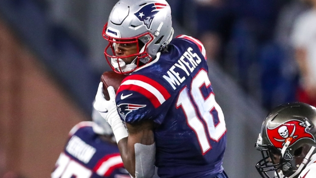 New England Patriots receiver Jakobi Meyers