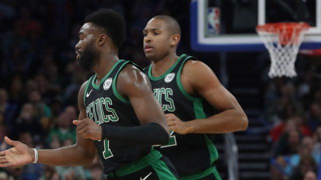 Boston Celtics wing Jaylen Brown, center Al Horford