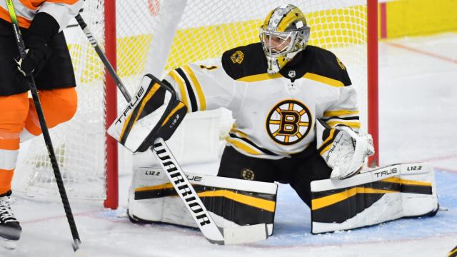 Bruins Goalie Jeremy Swayman