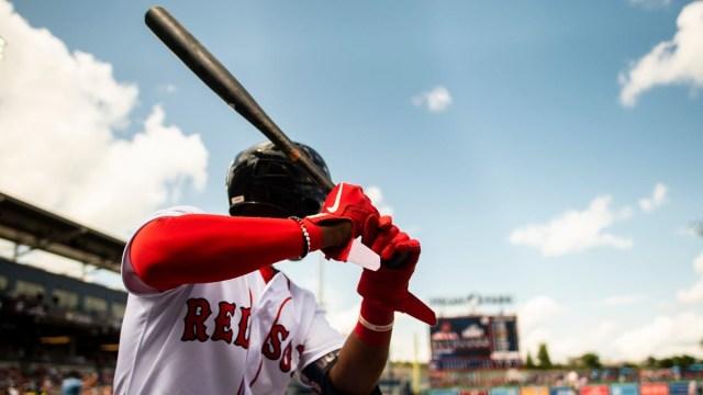 Worcester Red Sox Infielder Jeter Downs