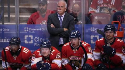 Florida Panthers head coachh Joel Quenneville