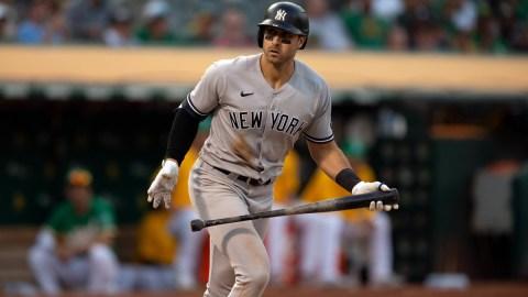 New York Yankees outfielder Joey Gallo