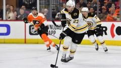 Boston Bruins defenseman John Moore