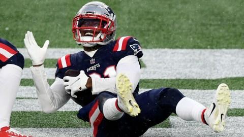 New England Patriots defensive back Jonathan Jones