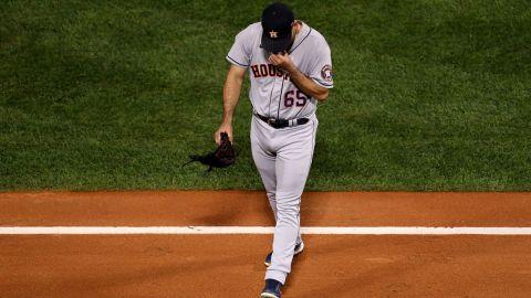 Houston Astros pitcher Jose Urquidy