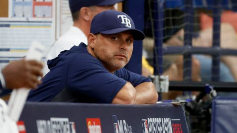 Tampa Bay Rays manager Kevin Cash