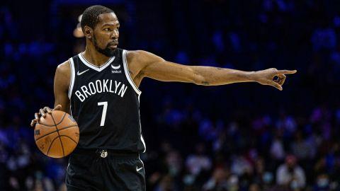 Brooklyn Nets star Kevin Durant