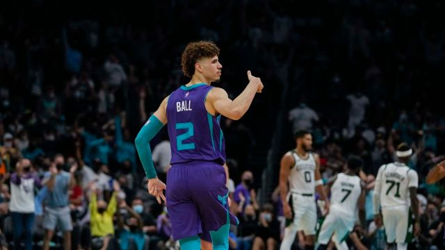 Charlotte Hornets Point Guard LaMelo Ball