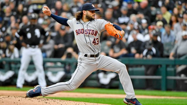 Houston Astros starting pitcher Lance McCullers Jr.