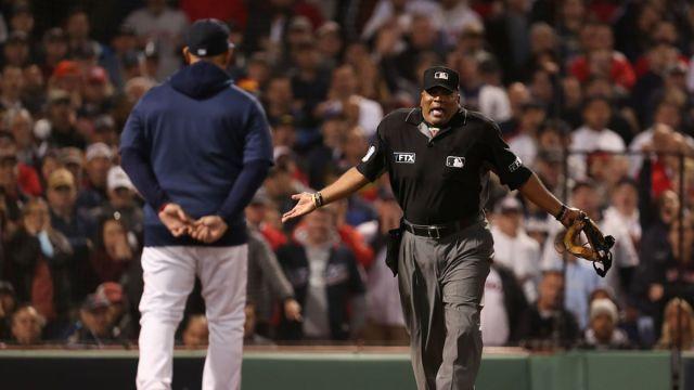 MLB Umpire Laz Díaz
