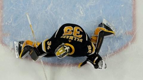 Boston Bruins Goaltender Linus Ullmark
