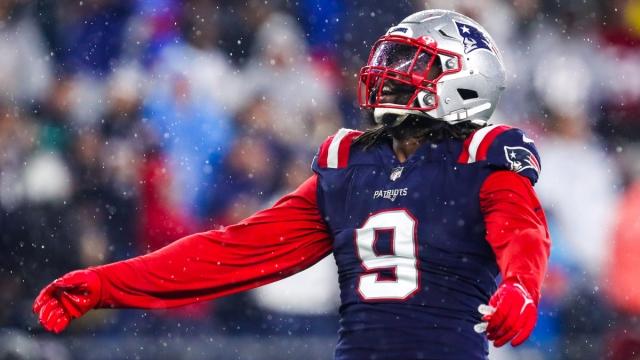 New England Patriots outside linebacker Matt Judon