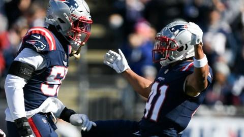 New England Patriots cornerback Myles Bryant
