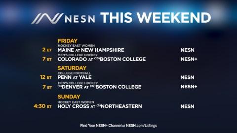 College programming on NESN