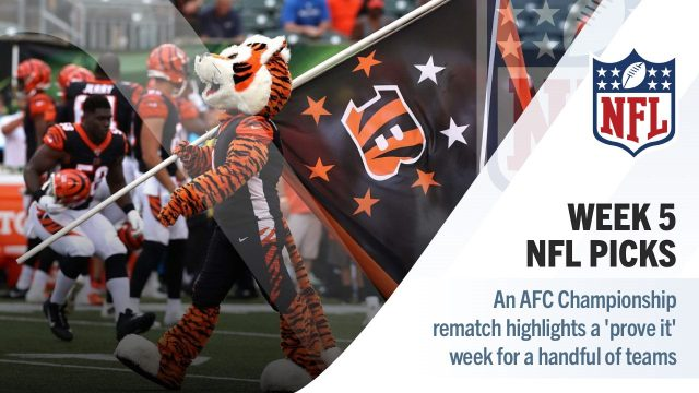 NFL Week 5 picks