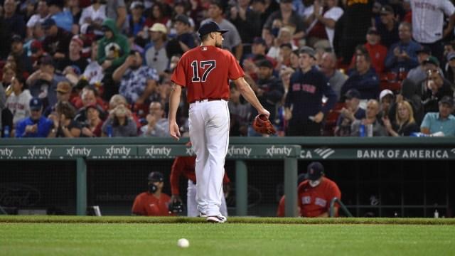 Boston Red Sox Pitcher Nate Eovaldi