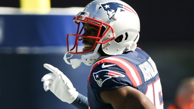 New England Patriots wide receiver Nelson Agholor