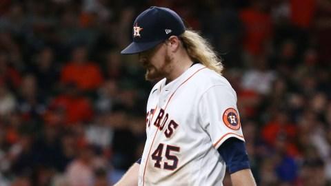 Houston Astros relief pitcher Ryne Stanek
