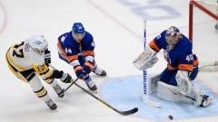 New York Islanders goalie Semyon Varlamov