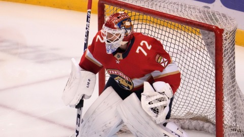 Florida Panthers Goalie Sergei Bobrovsky