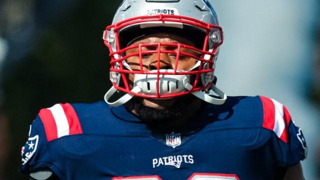 New England Patriots offensive guard Shaq Mason