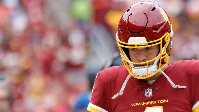 Washington Football Team quarterback Taylor Heinicke