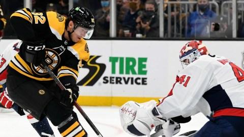 Boston Bruins Forward Tomas Nosek