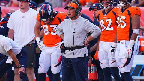 Denver Broncos coach Vic Fangio