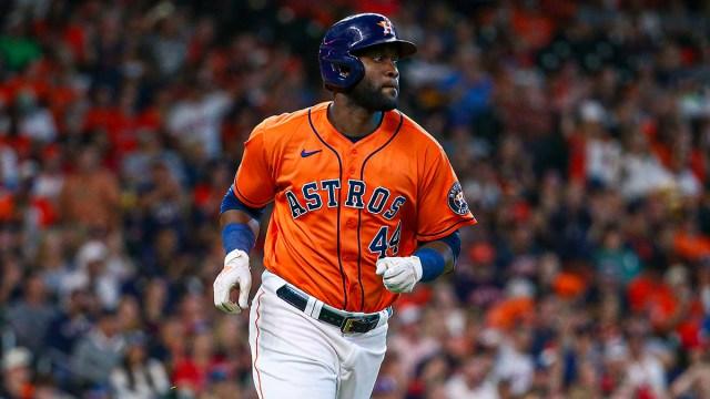Houston Astros designated hitter Yordan Álvarez