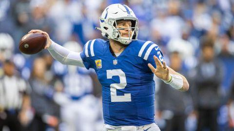 Indianapolis Colts quarterback Carson Wentz