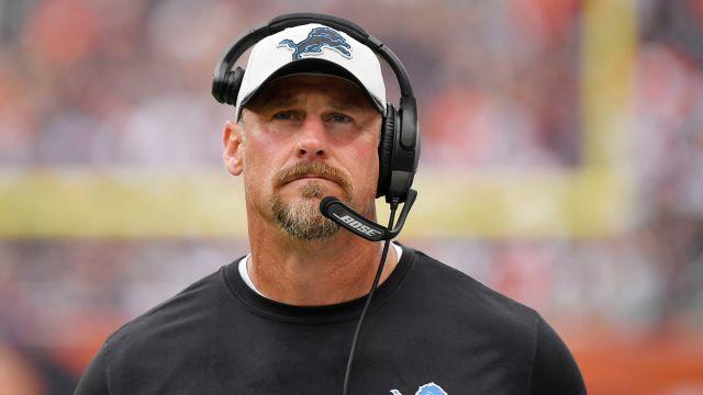 Detroit Lions head coach Dan Campbell