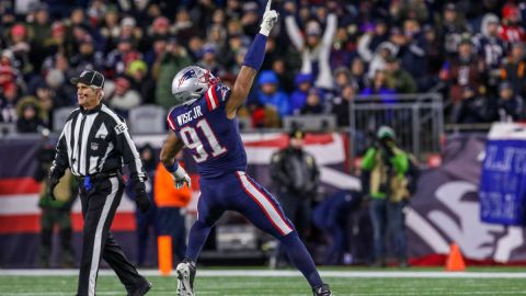 New England Patriots defensive end Deatrich Wise