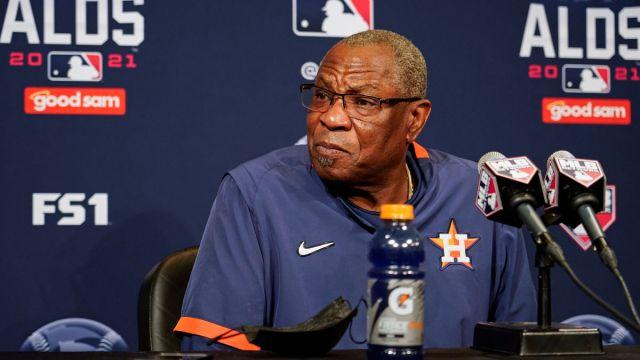 Houston Astros manager Dusty Baker