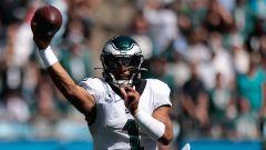 Philadelphia Eagles quarterback Jalen Hurts