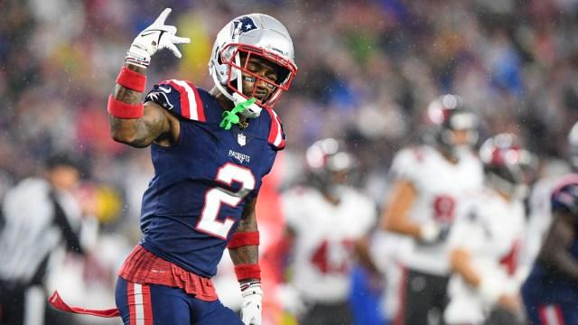 New England Patriots cornerback Jalen Mills