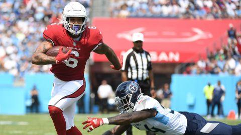 Arizona Cardinals running back James Conner